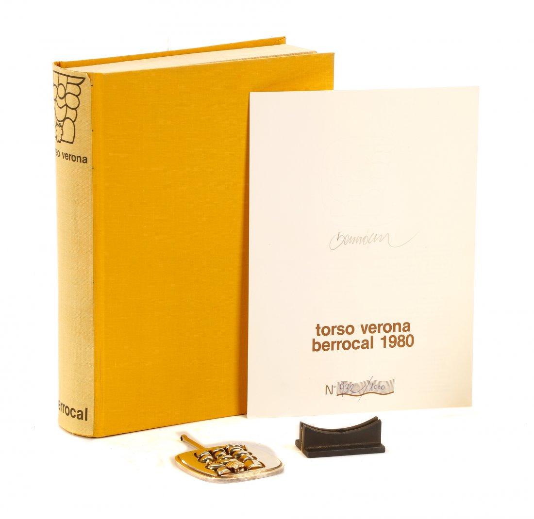 """Miguel Berrocal Ltd. Ed. """"Torso Verona"""" Bronze - 2"""