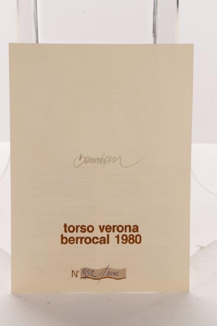 """Miguel Berrocal Ltd. Ed. """"Torso Verona"""" Bronze - 8"""