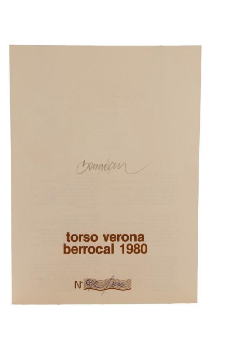 """Miguel Berrocal Ltd. Ed. """"Torso Verona"""" Bronze - 9"""