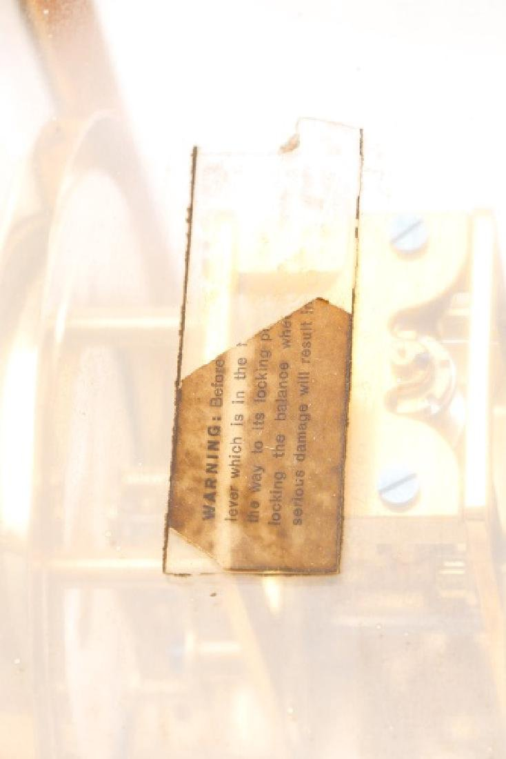 Mid Century LeCoultre Gilt Brass #519 Atmos Clock - 10