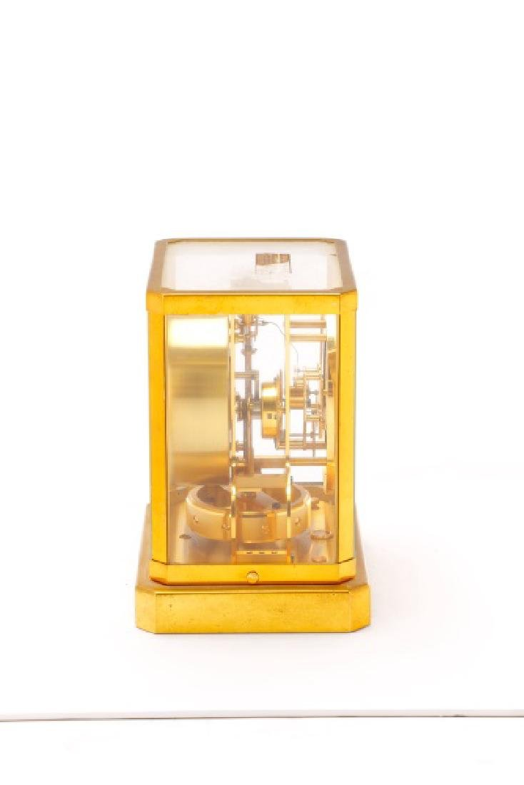 Mid Century LeCoultre Gilt Brass #519 Atmos Clock - 7