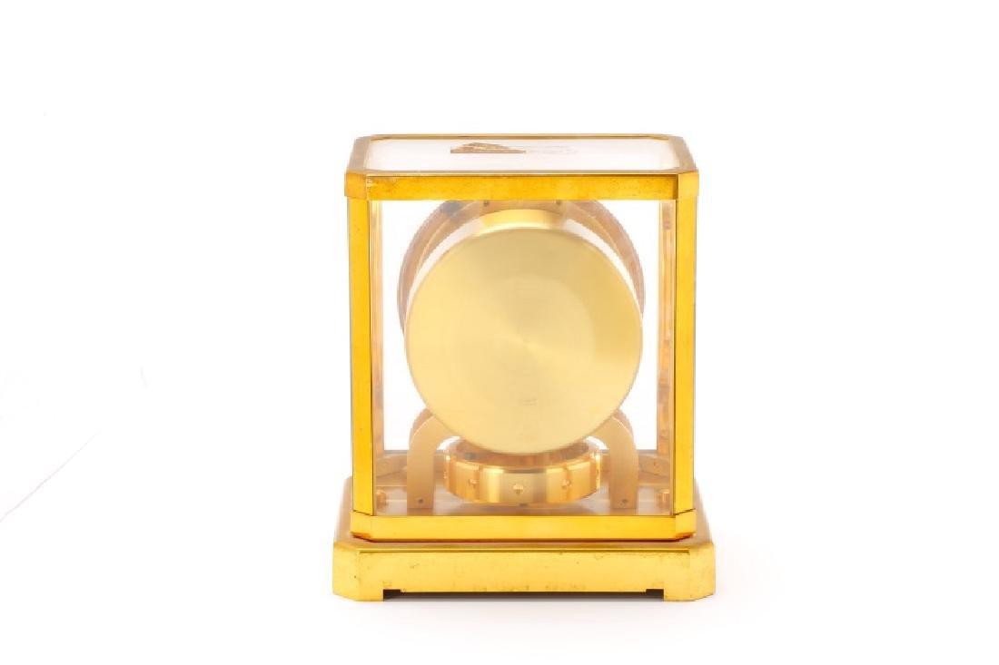 Mid Century LeCoultre Gilt Brass #519 Atmos Clock - 8