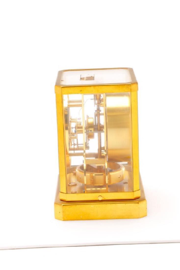 Mid Century LeCoultre Gilt Brass #519 Atmos Clock - 9
