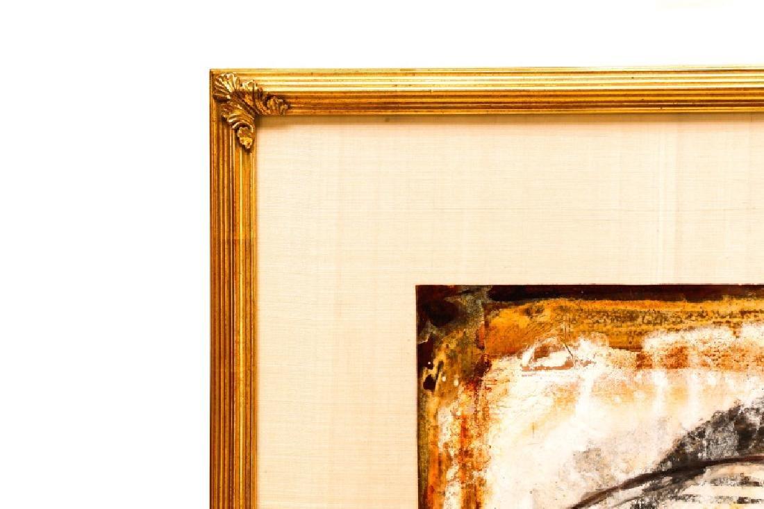 """Jamali, """"Profile"""" Mixed Media Painting - 2"""
