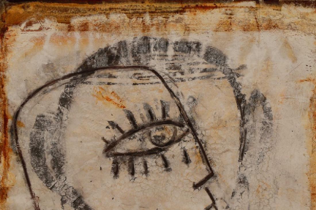 """Jamali, """"Profile"""" Mixed Media Painting - 3"""
