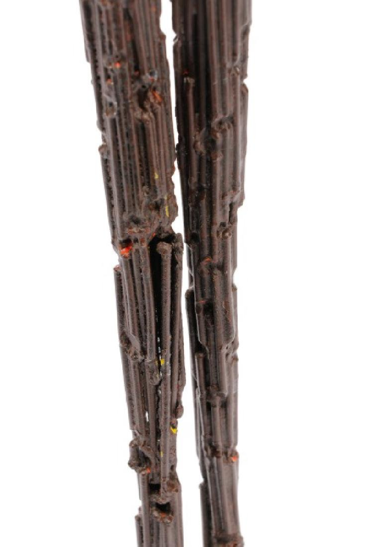 Brutalist Style Sculpture of a Standing Woman - 9