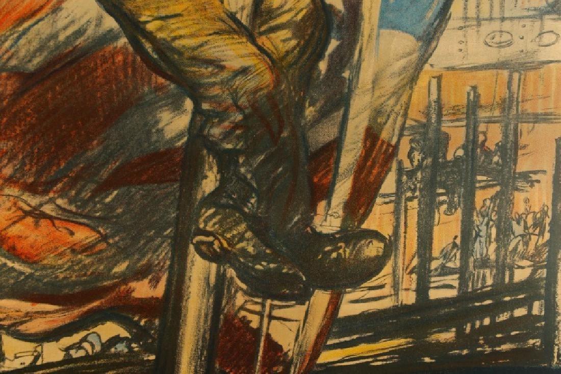 World War I Propaganda Poster, circa 1918 - 12
