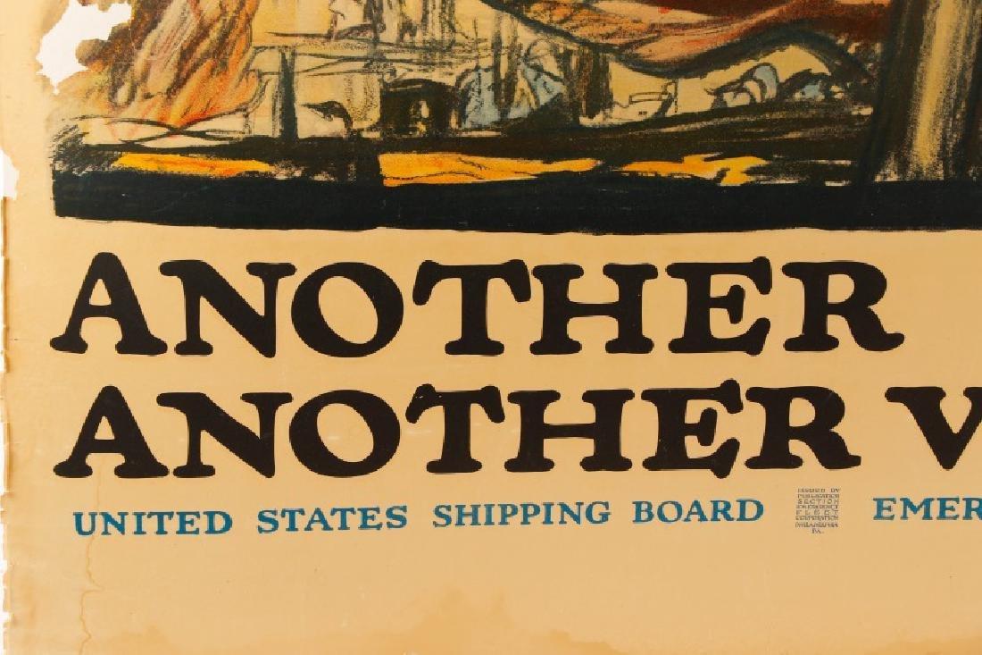 World War I Propaganda Poster, circa 1918 - 2