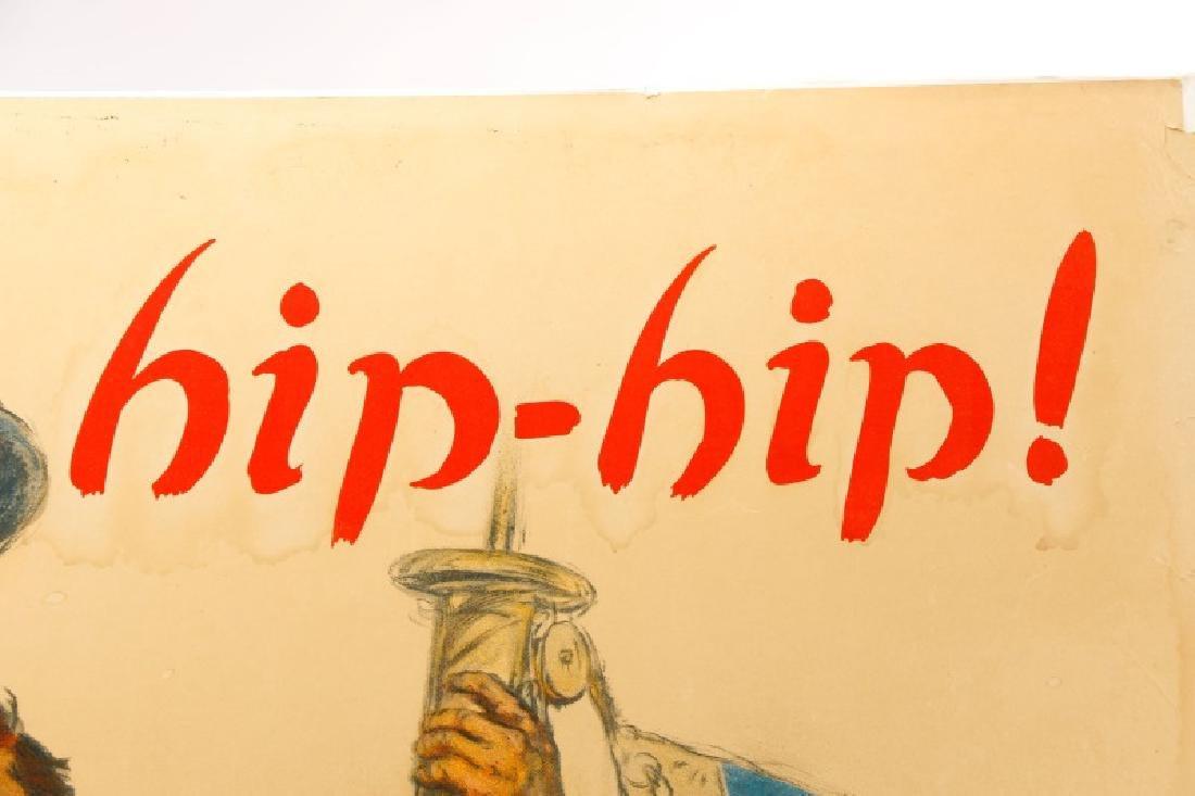 World War I Propaganda Poster, circa 1918 - 8