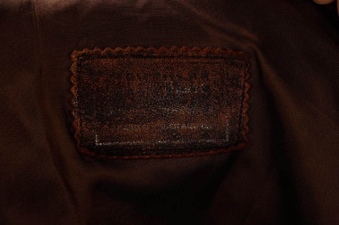 World War II Era Leather Bomber Jacket - 3
