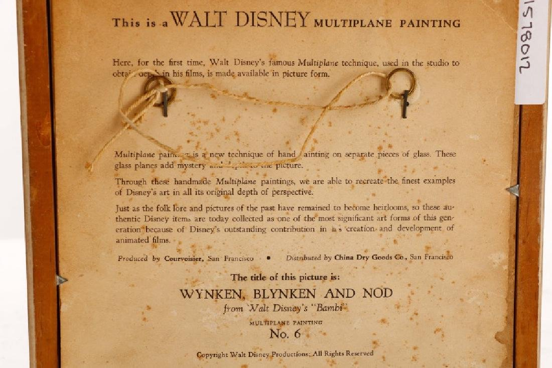 "Disney Multiplane No. 6, ""Wyncken, Blyncken & Nod"" - 6"