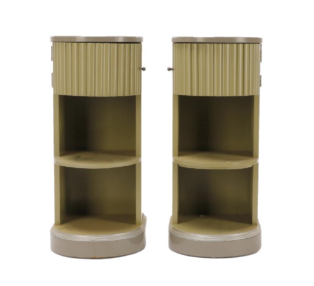 Pair, American Art Deco Stands/Tables, Kittinger