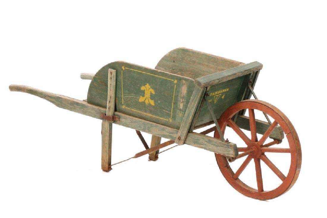Fairbanks Stencil Decorated No 4 Wheelbarrow