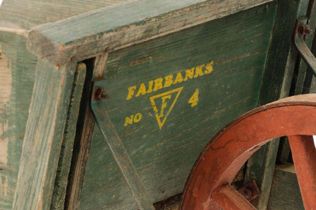 Fairbanks Stencil Decorated No 4 Wheelbarrow - 3