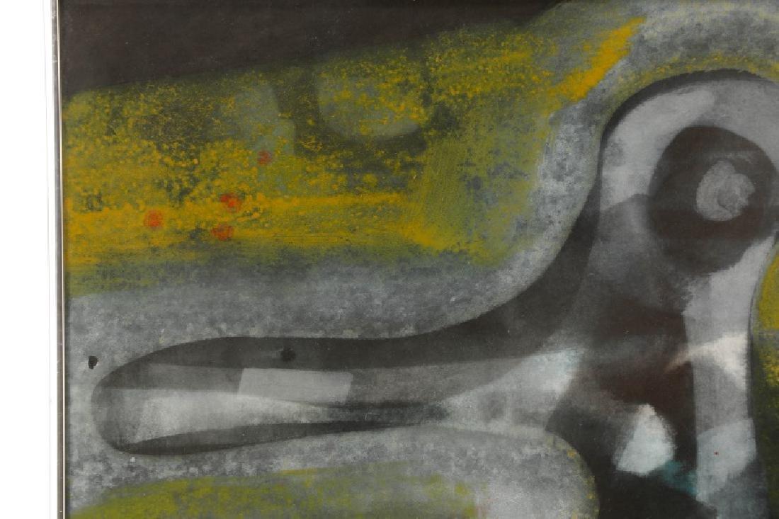 Alfons Dargis, 1964 Signed Abstract Mixed Media - 2