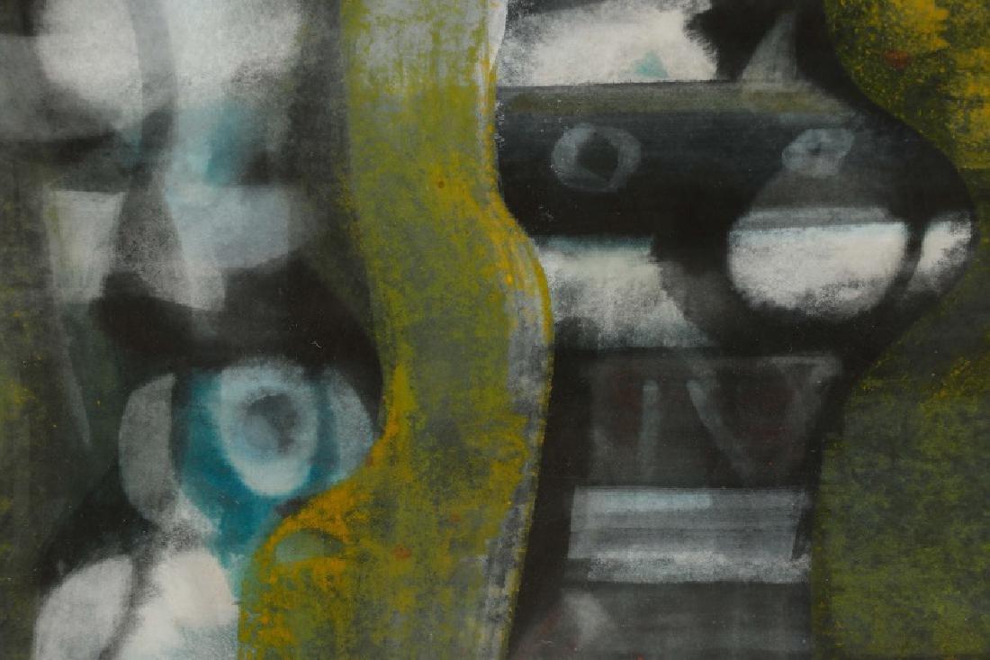 Alfons Dargis, 1964 Signed Abstract Mixed Media - 4