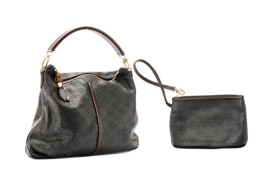 Louis Vuitton Mahina Selene PM Hobo & Clochette