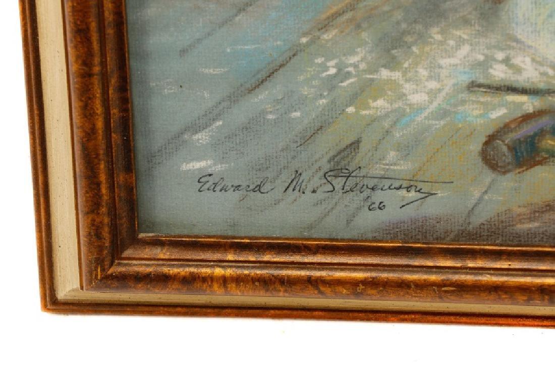 "Edward M. Stevenson, ""Pygmalion & Galatea,"" Pastel - 7"