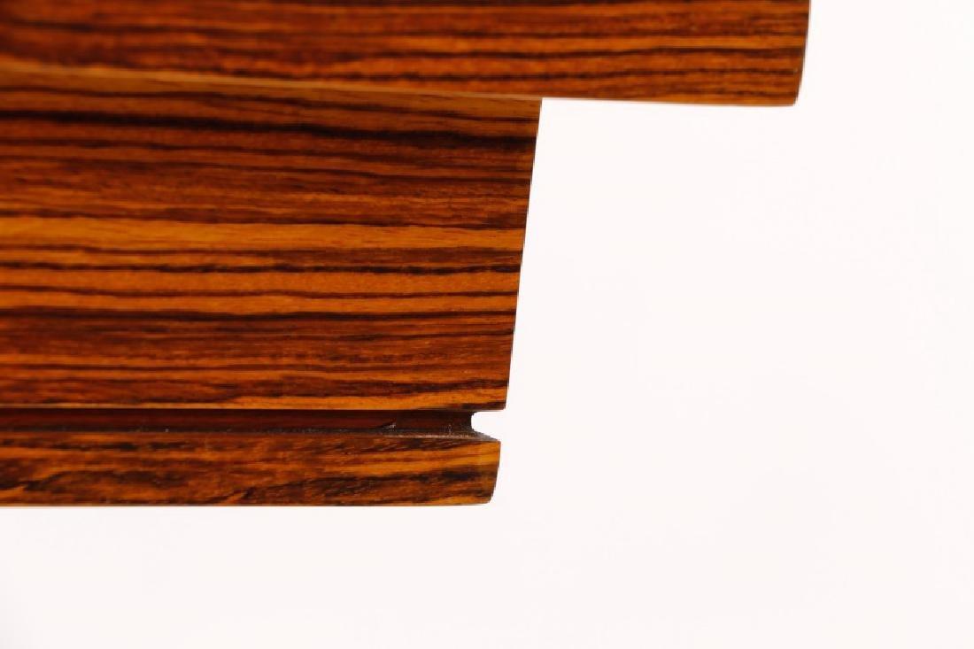 "William Switzer ""Elysee"" Zebrawood Console Table - 8"