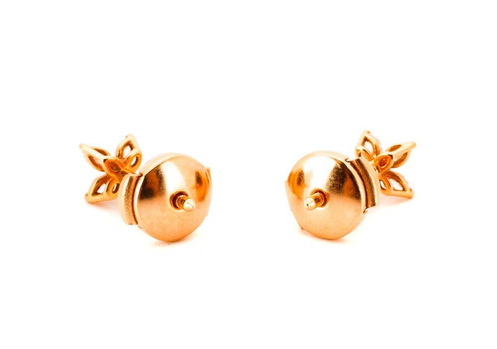 Pair of Tiffany Diamond Earrings - 2