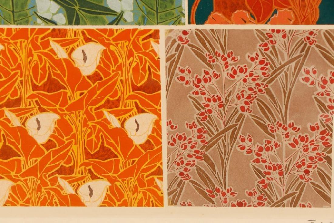 Four Art Nouveau Eugene A. Seguy Pochoir Prints - 10