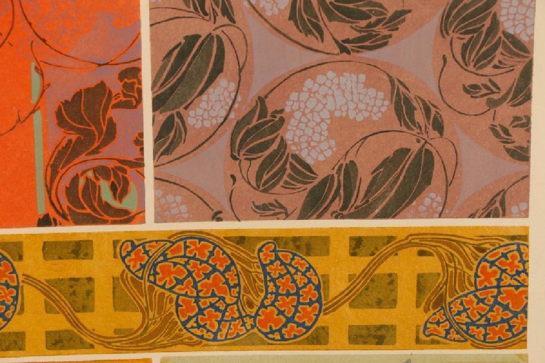Four Art Nouveau Eugene A. Seguy Pochoir Prints - 2