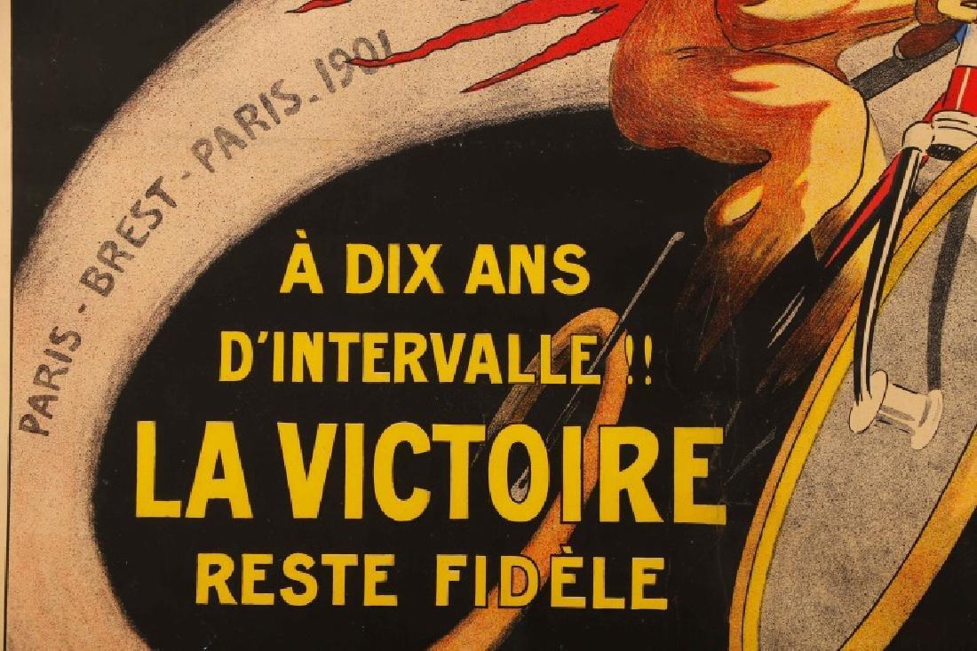 Vintage Paris-Brest-Paris Cycling Race Poster 1911 - 4