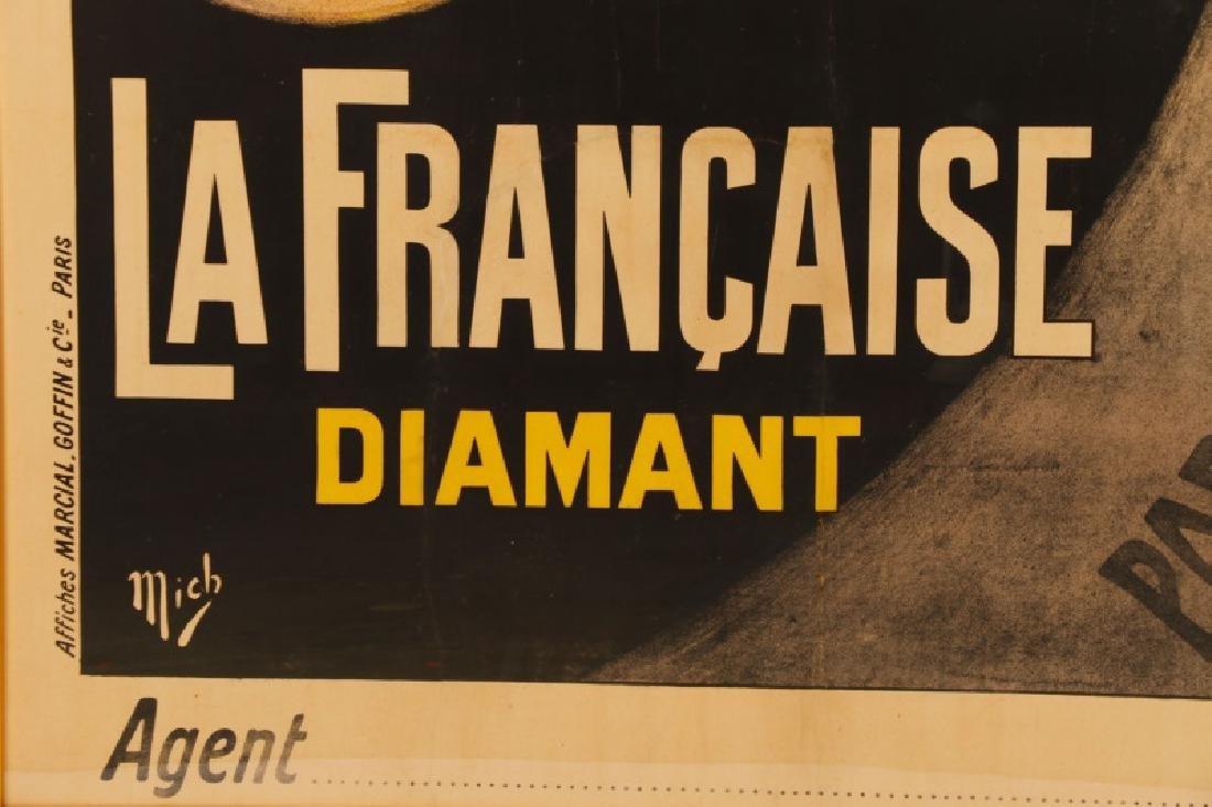 Vintage Paris-Brest-Paris Cycling Race Poster 1911 - 6