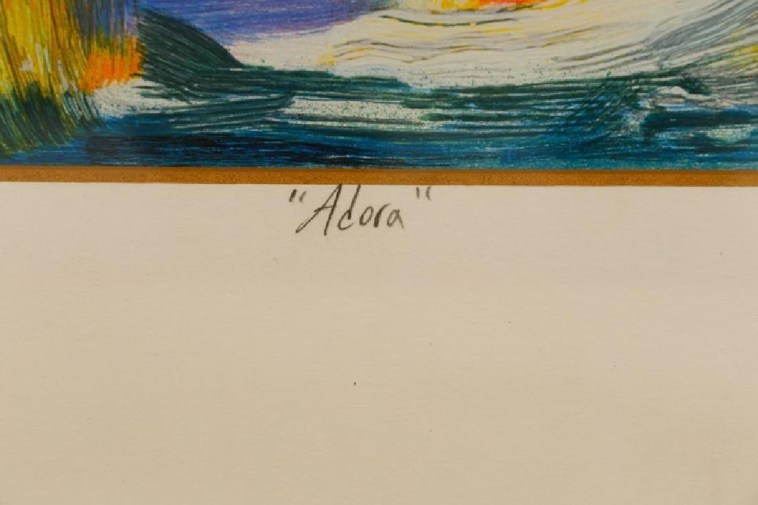 """William Tolliver, """"Adora"""", Signed Serigraph - 2"""