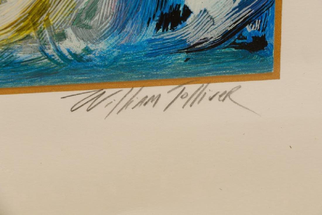 """William Tolliver, """"Adora"""", Signed Serigraph - 3"""