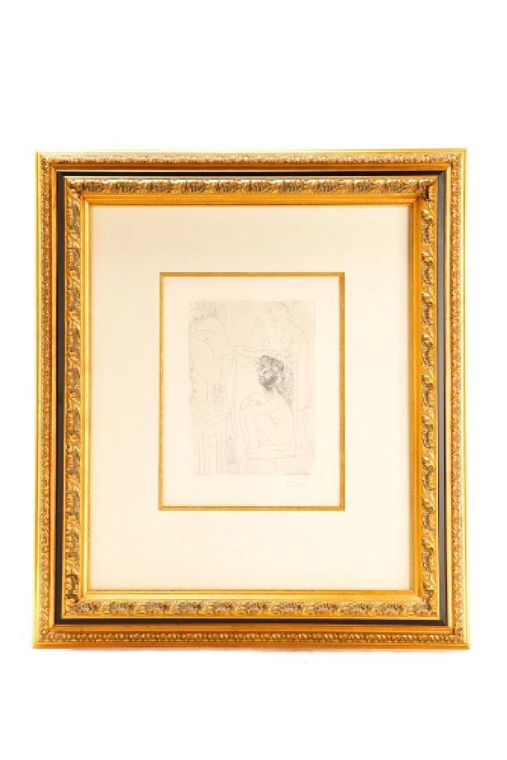 """Pablo Picasso, """"Modèle, Tableau et Sculpture"""" 1939"""