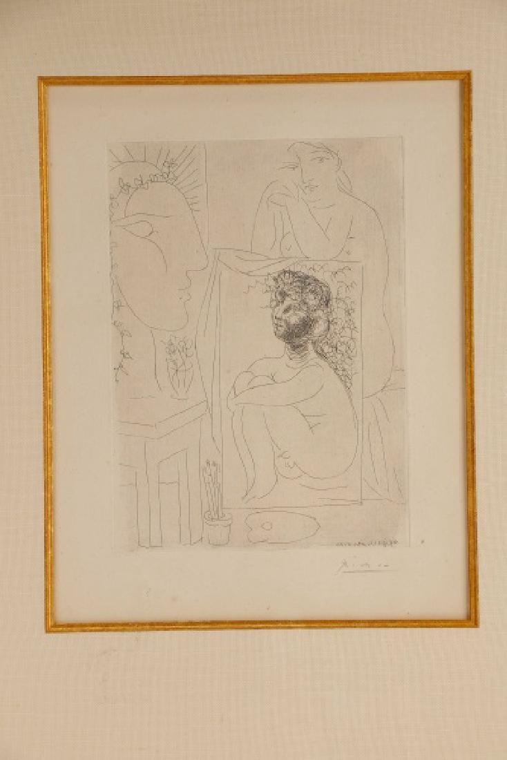 """Pablo Picasso, """"Modèle, Tableau et Sculpture"""" 1939 - 2"""