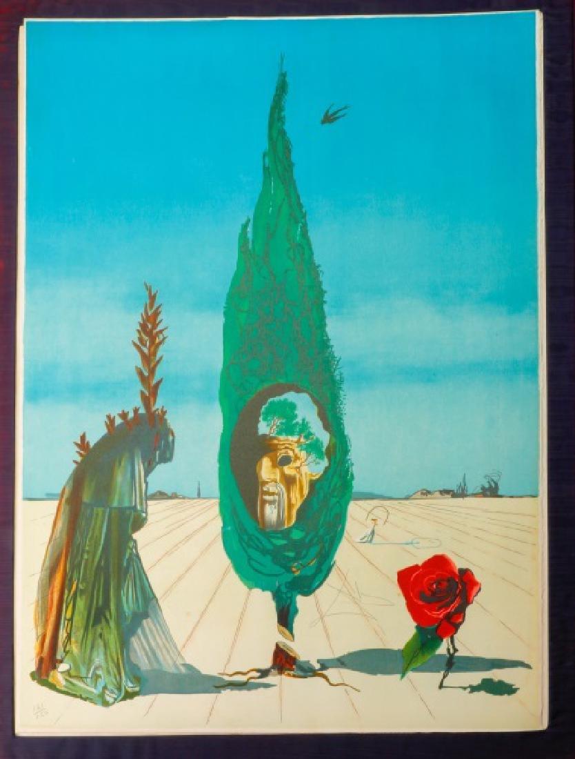 "Salvador Dali ""Visions Surrealiste"" 1976 Portfolio - 4"