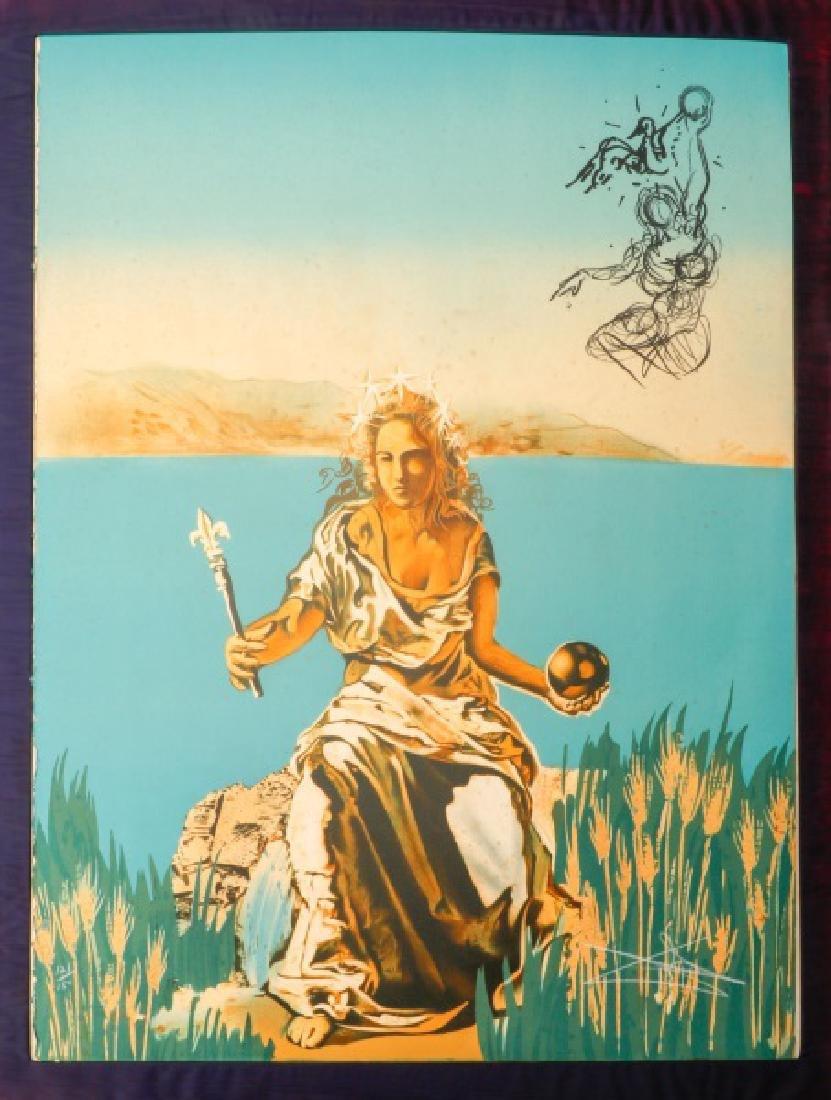 "Salvador Dali ""Visions Surrealiste"" 1976 Portfolio - 5"