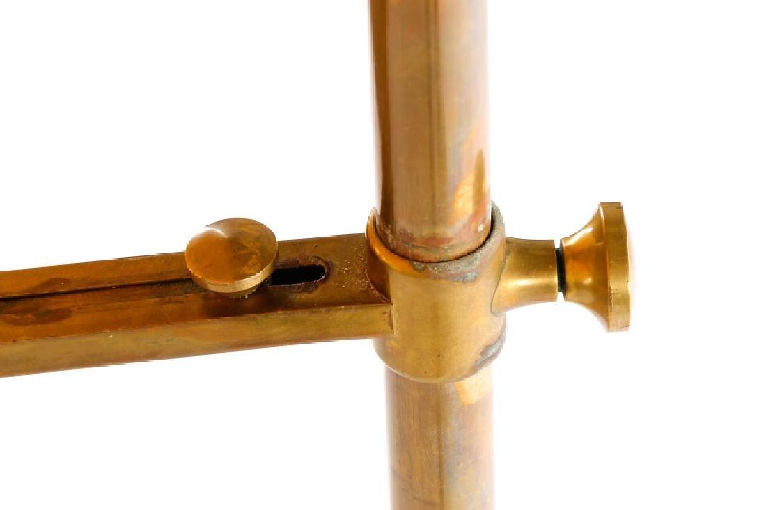 Angelo Lelli for Arredoluce Brass Easel Lamp - 10