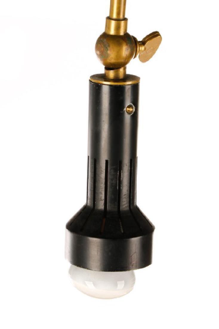 Angelo Lelli for Arredoluce Brass Easel Lamp - 2