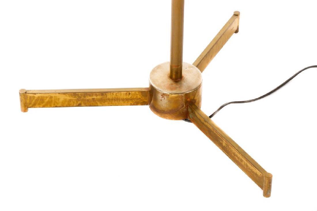 Angelo Lelli for Arredoluce Brass Easel Lamp - 7