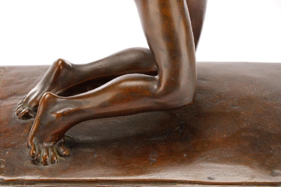 Brenda Putnam, Art Deco Female Nude Archer Bronze - 6