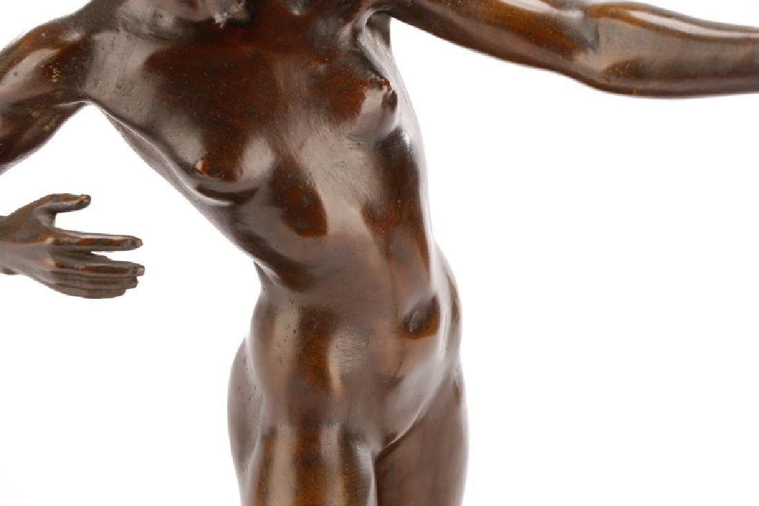 Brenda Putnam, Art Deco Female Nude Archer Bronze - 9