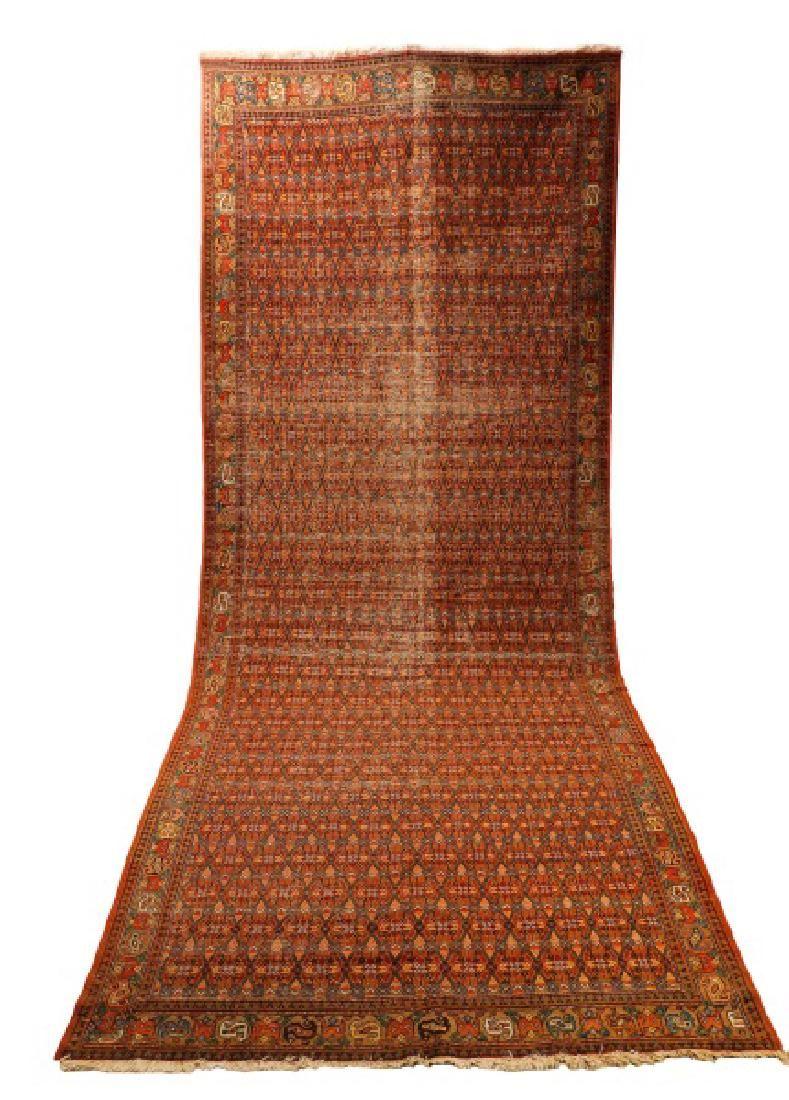 "Hand Woven Persian Hamadan, 5' 10 1/2"" x 15' 3"""