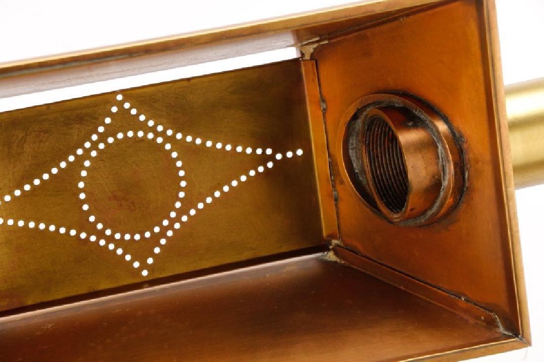 Chapman Ebonized Brass Reading Floor Lamp - 7