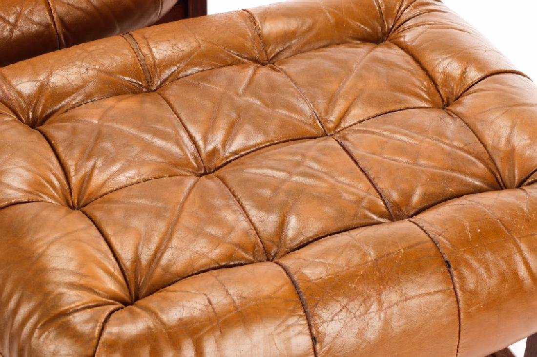 Percival Lafer Lounge Chair and Ottoman - 4