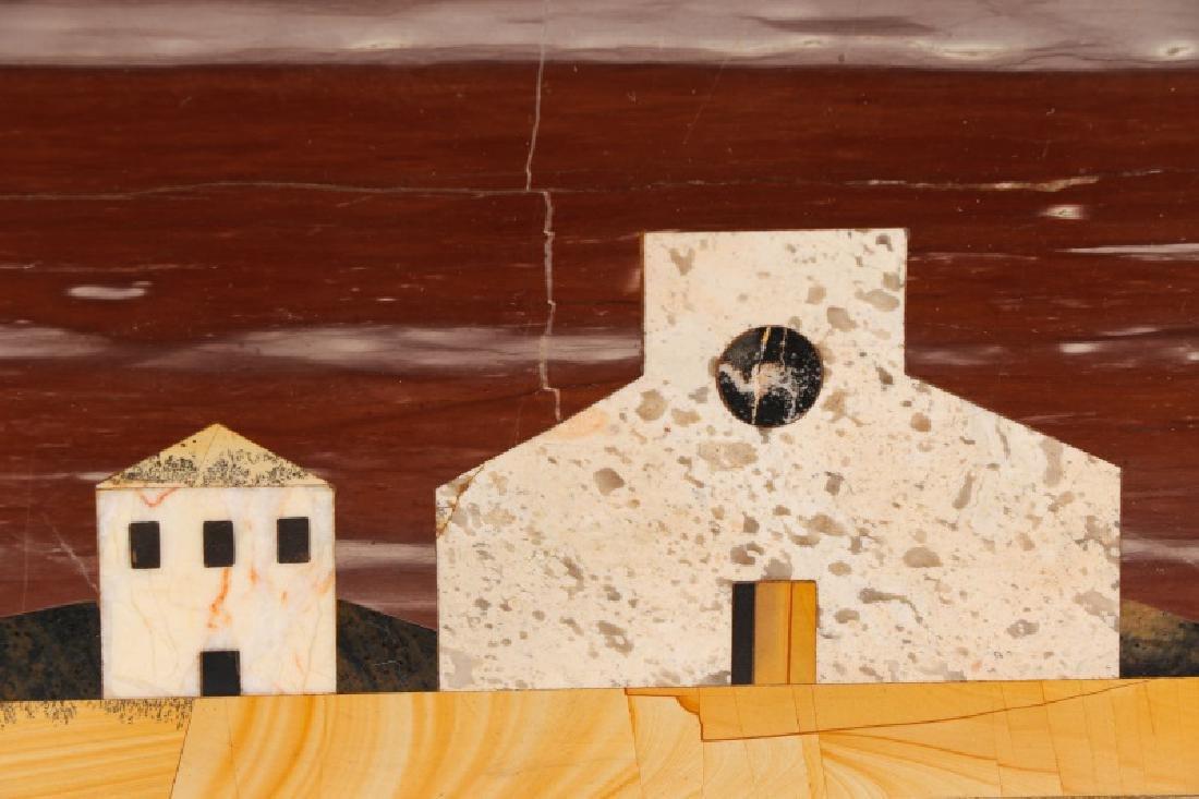 Richard Blow Pietra Dura Marble Plaque, Montici - 3