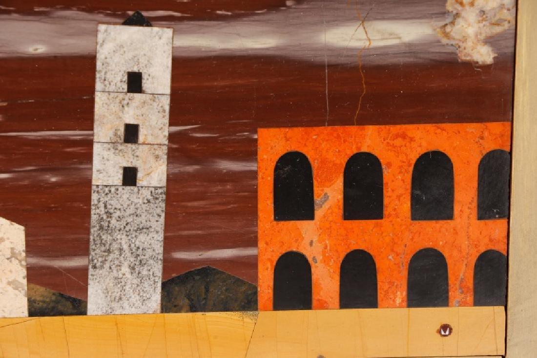 Richard Blow Pietra Dura Marble Plaque, Montici - 4