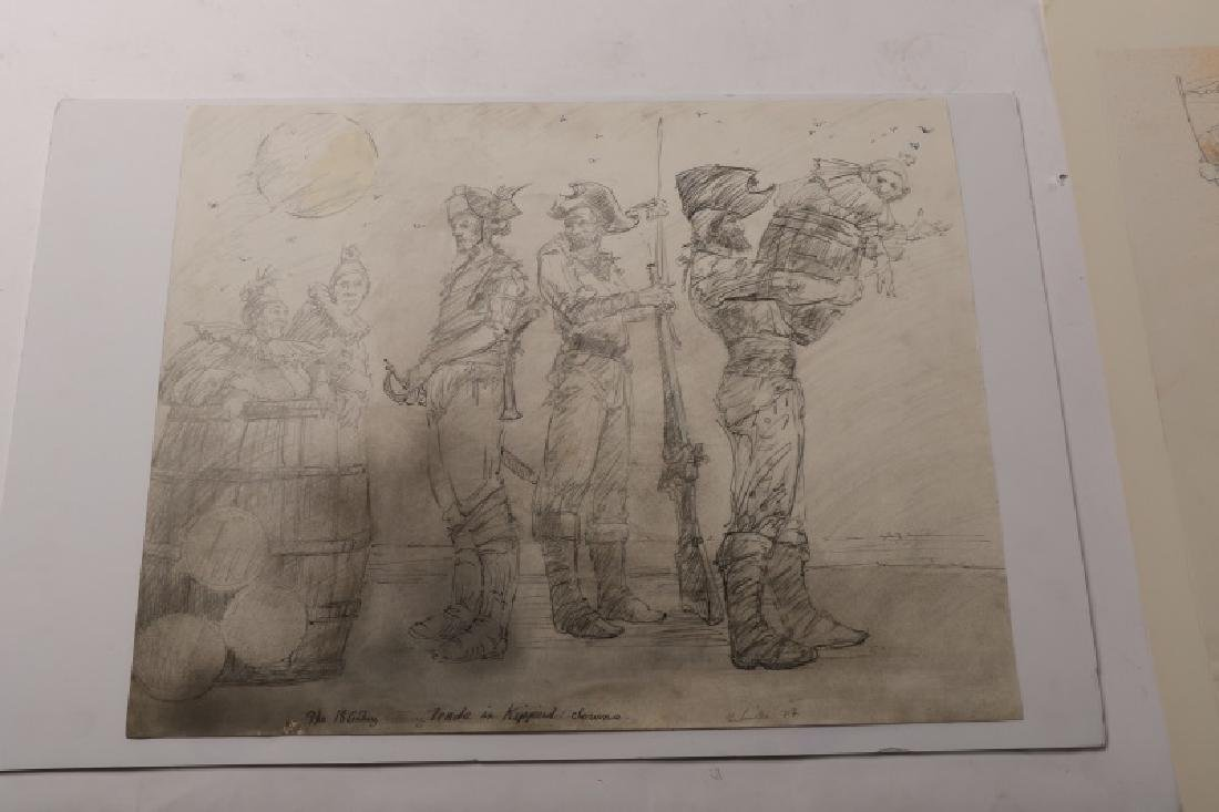 """Ben Smith, """"18th Century Trade in Kippered Clowns"""" - 4"""