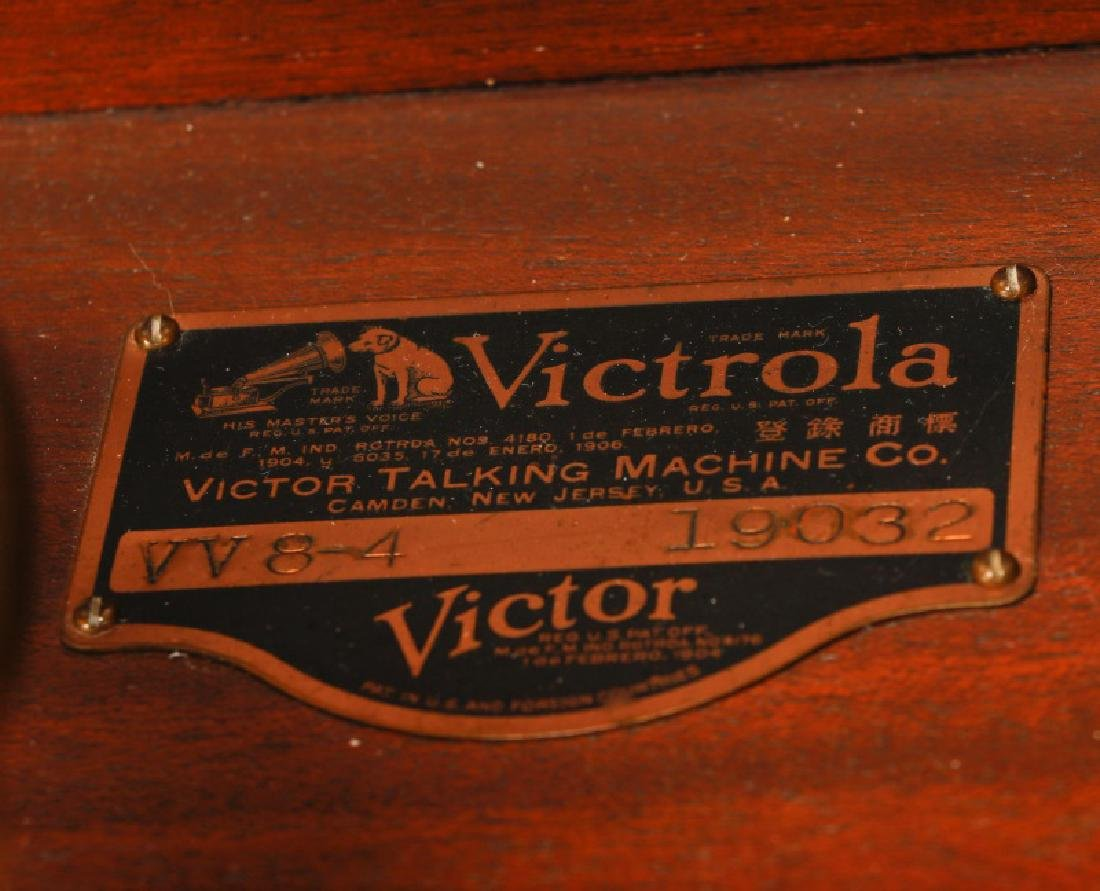 Victor Orthophonic Credenza Victrola, Model VV8-4 - 8