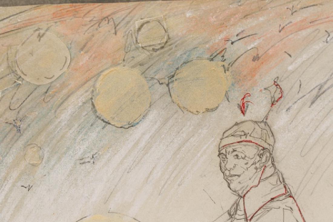 "Ben Smith, ""New Art"", Mixed Media on Paper - 2"