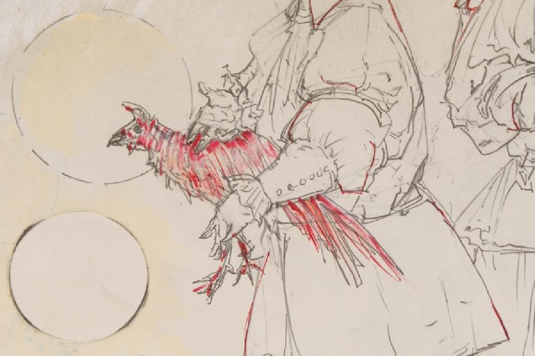"Ben Smith, ""New Art"", Mixed Media on Paper - 4"