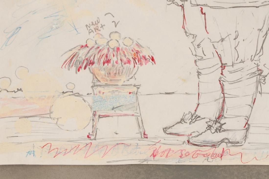"Ben Smith, ""New Art"", Mixed Media on Paper - 5"
