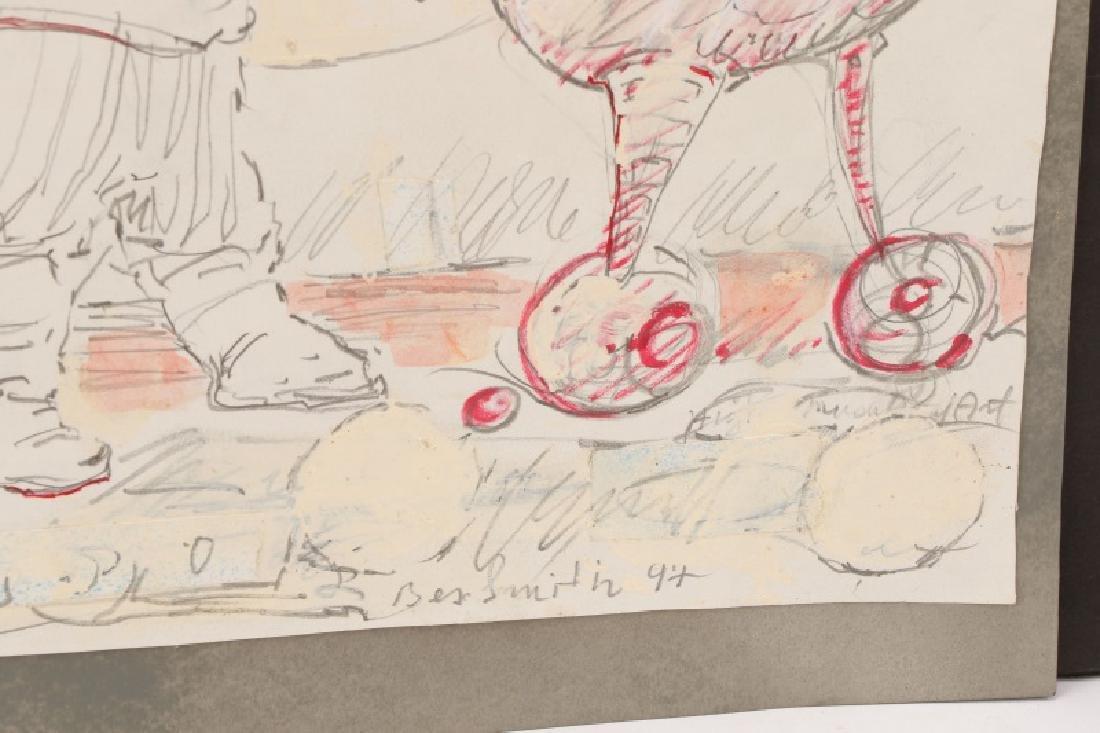"Ben Smith, ""New Art"", Mixed Media on Paper - 8"